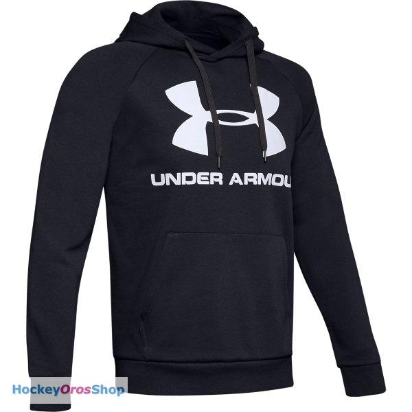 Mikina UNDER ARMOUR RIVAL FLEECE LOGO HOODIE SR