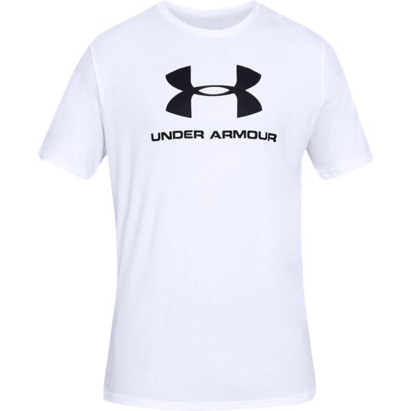 Tričko UNDER ARMOUR SPORTSTYLE LOGO Wht